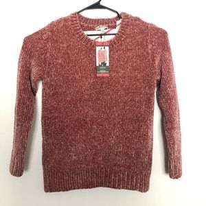 Orvis chenille Pullover Sweater